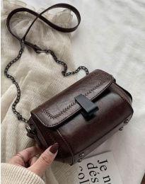 Дамска чанта в тъмнокафяво - код B415