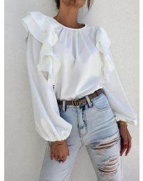 Елегантна блуза в бяло - код 0509