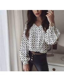 Риза - 838 - 2 - бяло