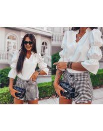 Елегантна риза в бяло - 913