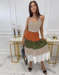 Атрактивен модел рокля - код 3392 - 3