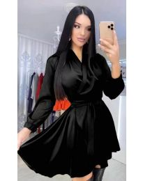 Екстравагантна рокля в черно - код 5931