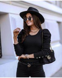 Дамска блуза в черно - код 4448