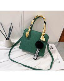 Дамска чанта в зелено - код B92