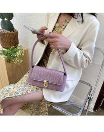 Дамска чанта в лилаво - код B6