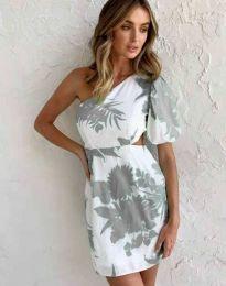 Атрактивна рокля с едно рамо - код 4650 - 6