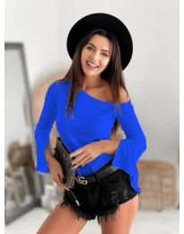 Дамска блуза в синьо - код 8353