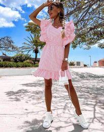 Феерична рокля в розово - код 2657