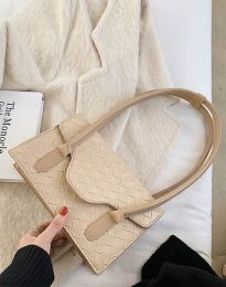 Атрактивна дамска чанта в бежово - код B350