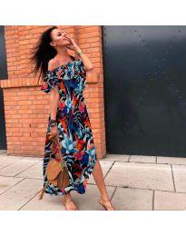 Феерична рокля с флорален десен - код 525 - 5