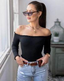 Дамска блуза в черно - код 0277