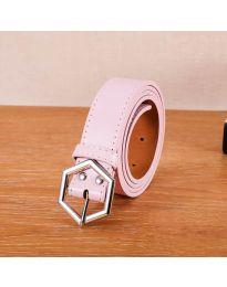 Дамски колан в розово - код P76
