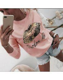 Дамска блуза в розово - код 975