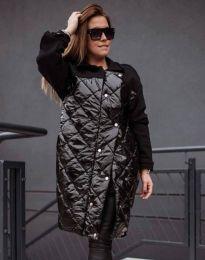 Ефектно дамска яке в черно - код 4962