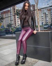Втален дамски клин в цвят бордо - код 82088