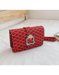 Дамска чанта в червено - код B94