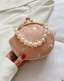 Дамска чанта в розово - код B474