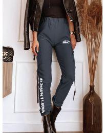 Дамски панталон в сиво - код 1142