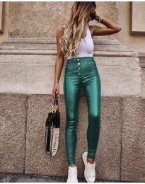 Панталон в зелено с копчета - код 4181
