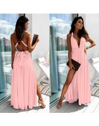 Дълга рокля в розово - код 0304
