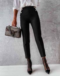 Елегантен дамски панталон в черно - код 4895
