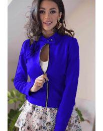 Дамско яке в синьо - код 887