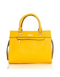Дамска чанта в жълто - код  NH2893