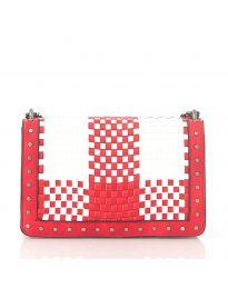 Дамска чанта в червено - код 92083