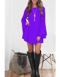 Елегантна рокля в лилаво - код 8102