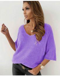 Дамска блуза в лилаво - код 901