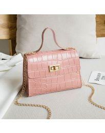 Дамска чанта в розово - код B97