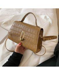 Елегантна дамска чанта в кафяво - код B529