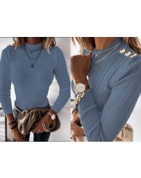 Дамска блуза в светло синьо - код 9930
