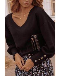 Елегантна дамска блуза в черно - код 812