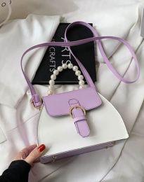 Дамска чанта в лилаво - код B439