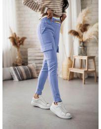 Дамски панталон в светлосиньо - код 5130