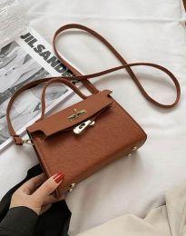 Дамска чанта в кафяво - код B398