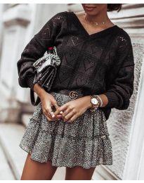 Дамска блуза в черно - код 137