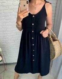 Дамска рокля в черно - код 1472