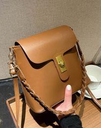 Дамска чанта в светлокафяво - код B328