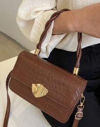 Дамска чанта в кафяво - код B498