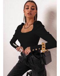 Дамска блуза в черно - код 11517