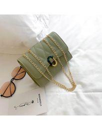 Дамска чанта в зелено - код B29/7751