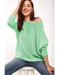 Дамска блуза в цвят мента - код 831