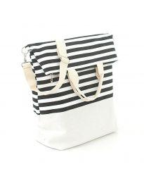 Плажна чанта на райе - код H - 9029 - 4
