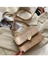 Елегантна дамска чанта в бежово - код B159