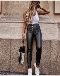 Панталон в черно с копчета - код 4181