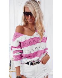 Дамска блуза в розово - код 8689