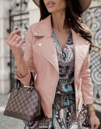 Елегантно дамско яке в розово - код 6354
