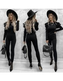 Дамски комплект в черно - 5583
